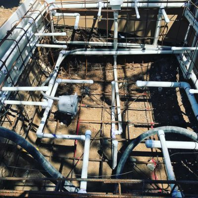 Plumbing and electric work